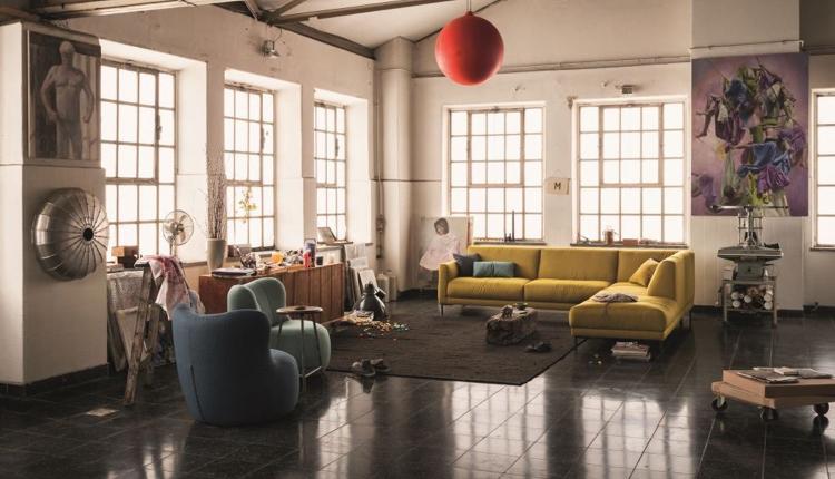 Patchwork-Möbel für junges Wohnen im Wohnforum Wurster