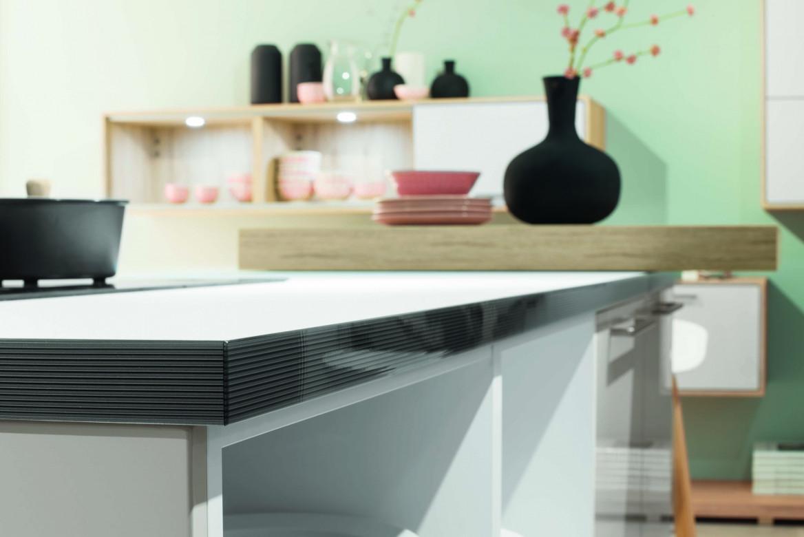 Moderne Küche mit optimierter Arbeitshöhe
