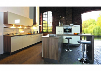 Moderne Küche wie aus einer Wohnzeitschrift