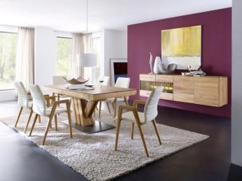 Moderne Essgruppen im Wohnforum Wurster