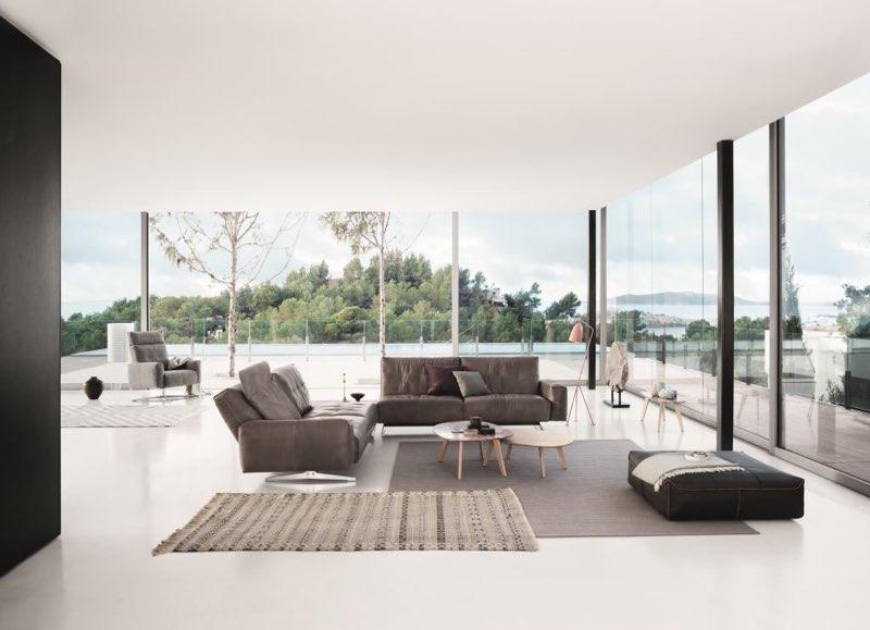 Moderne Wohnlandschaft von ROLF BENZ (Rolf Benz 50)