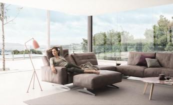 Modernes Rolf Benz Sofa, Modell Rolf Benz 50