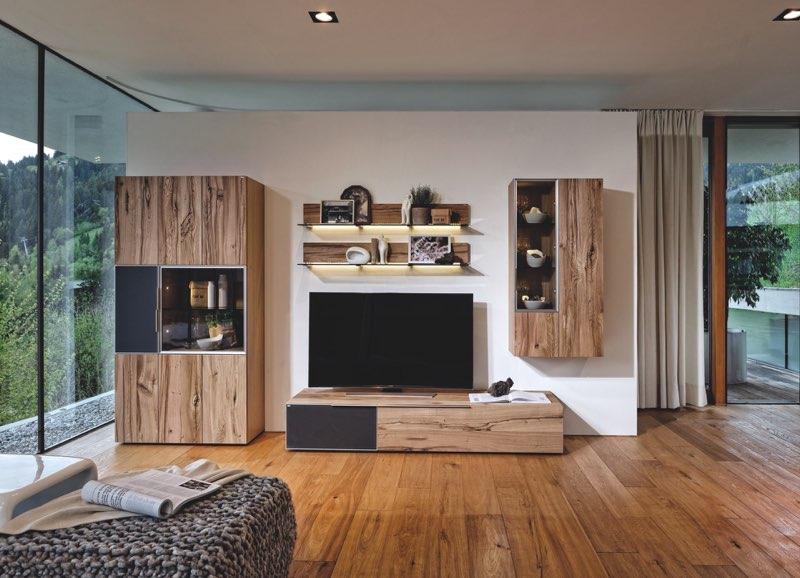 Modernes Wohnzimmer von VOGLAUER (Modell V-Alpin )