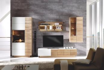 Moderner Wohnstyle wie aus einem Magazin: Voglauer V-Montana