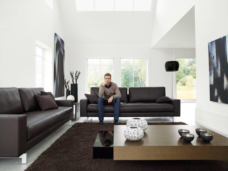 Moderne Wohnideen beginnen mit einem Sofa: ROLF BENZ Vida