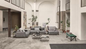 Modernes Lounge-Sofa:  Rolf Benz Nuvola