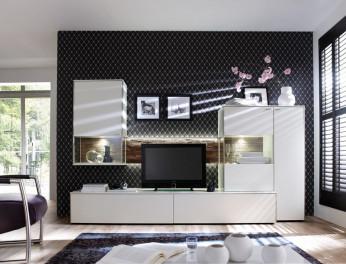 Moderne Wohnwand im Wohnforum Wurster: Venjakob Sentino