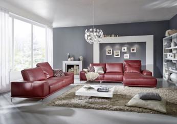 Moderne Sofa-Landschaft aus dem Wohnforum Wurster