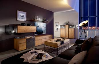 Moderne Wohnwand aus dem Wohnforum Wurster
