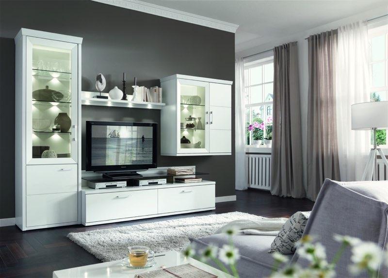 Kontrast Zwischen Möbeln Wand