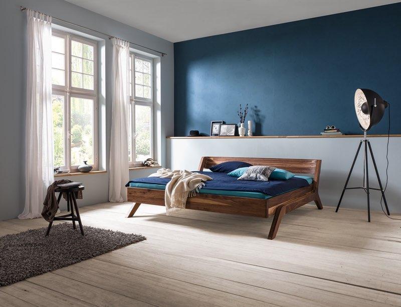 dormiente-Bett Modell Nera in Massivholz