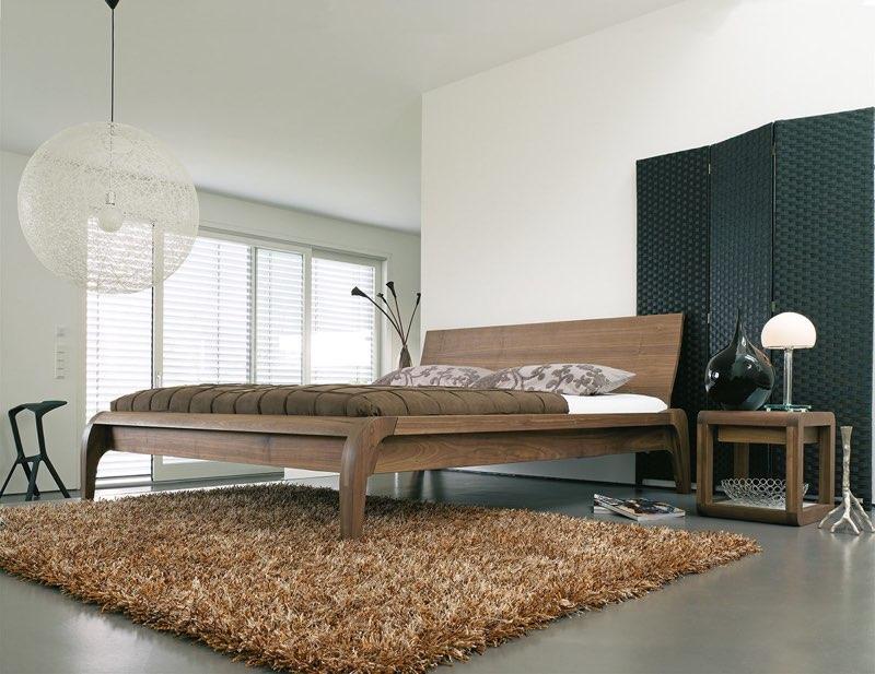 Modernes Bett für Puristen: dormiente Modell Madral
