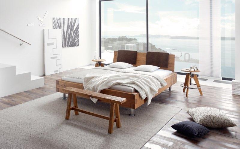 Modern und stylisch: Massivholzbett von Hasena