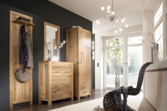 flur garderobe landhaus. Black Bedroom Furniture Sets. Home Design Ideas